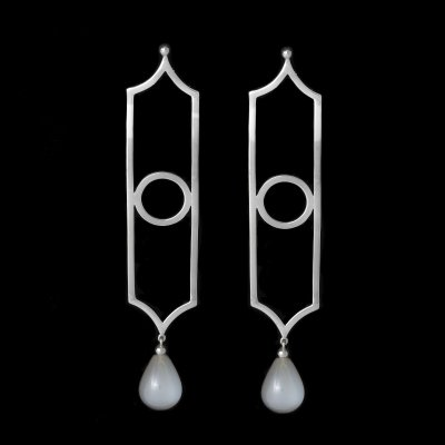 boucles quartz gris